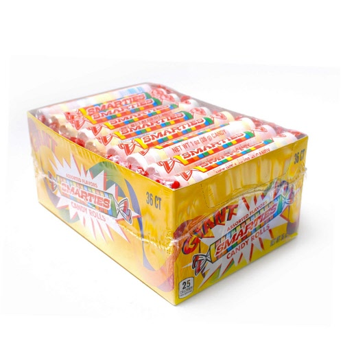 Smarties, Giant Jumbo, 36ct-Individually Wrapped Smarties ... Smarties Jumbo
